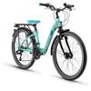 s'cool chiX 24 21-S - Vélo enfant - steel turquoise
